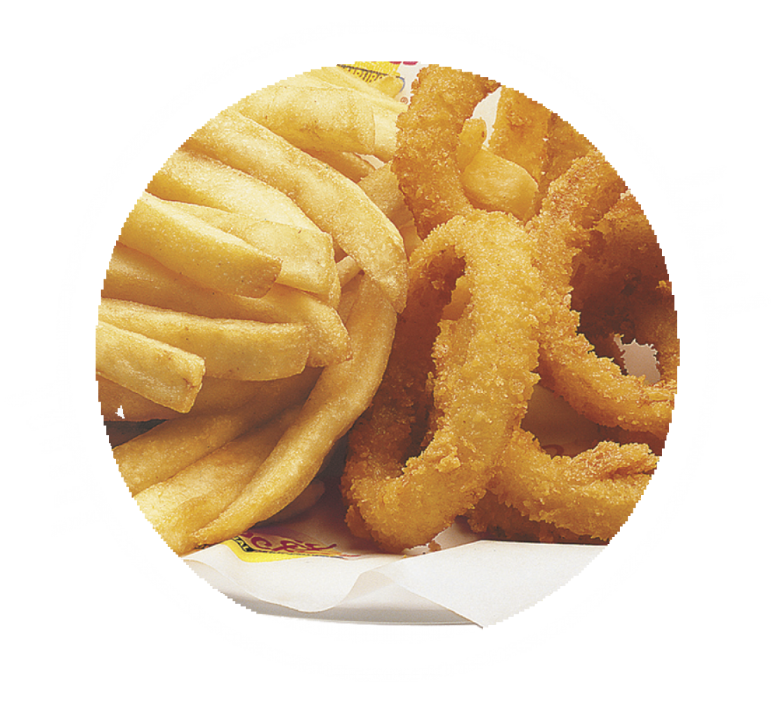 ½ Rings & ½ Fries